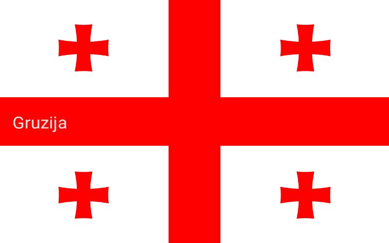 Zastave svijeta - Gruzija