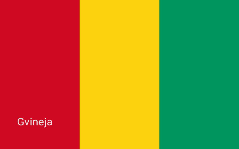 Zastave svijeta - Gvineja