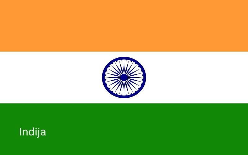 Zastave svijeta - Indija