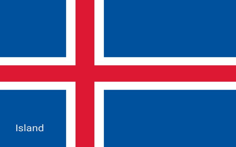 Zastave svijeta - Island