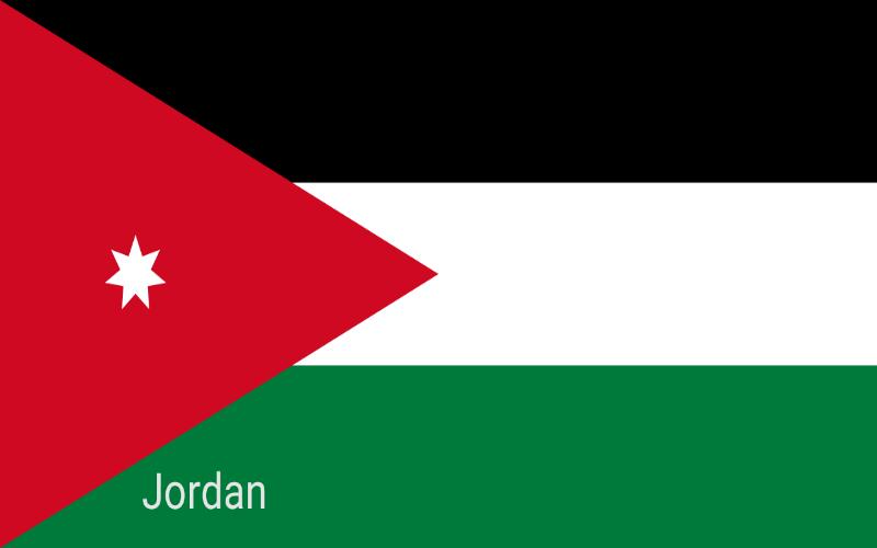 Države u svijetu - Jordan