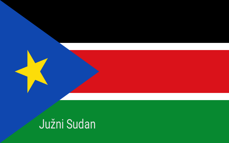 Države svijeta - Južni Sudan
