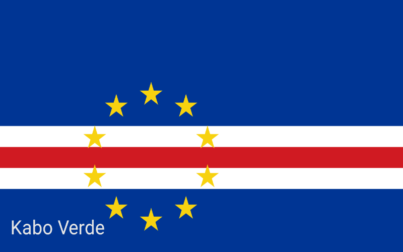 Zastave svijeta - Kabo Verde