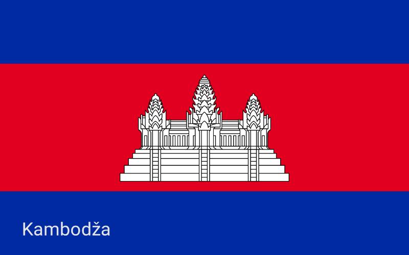 Zastave svijeta - Kambodža