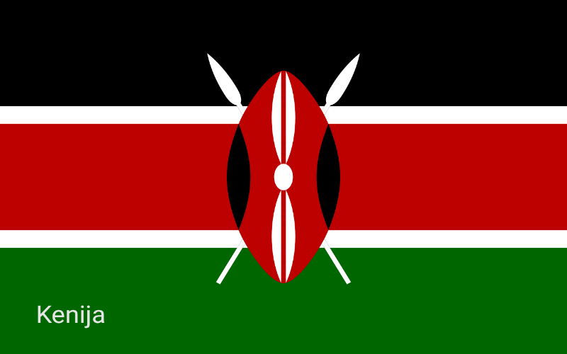 Države svijeta - Kenija