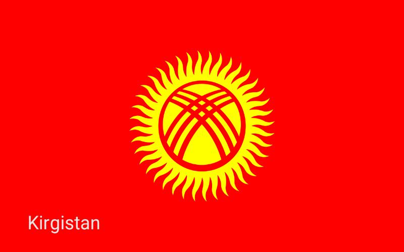 Države u svijetu - Kirgistan
