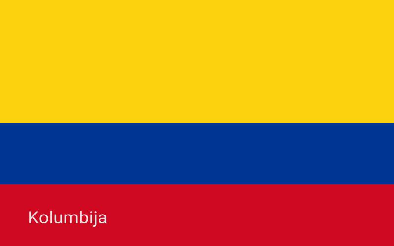 Države u svijetu - Kolumbija
