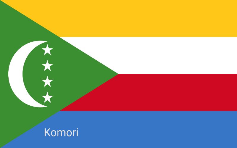 Države u svijetu - Komori