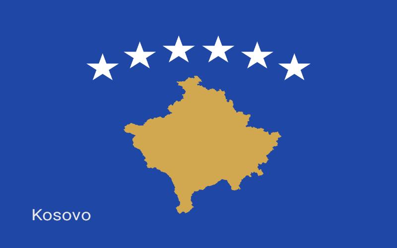 Zastave svijeta - Kosovo