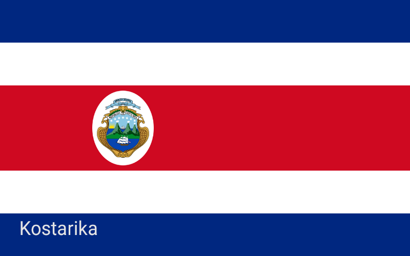 Države svijeta - Kostarika