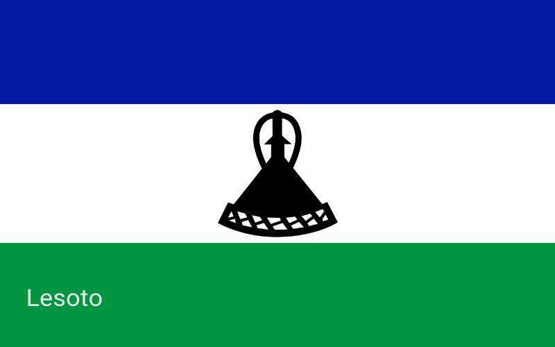 Države svijeta - Lesoto