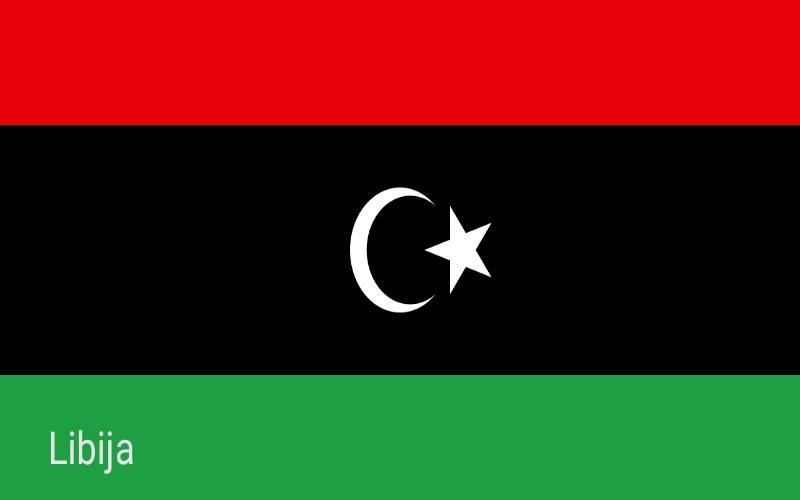 Države svijeta - Libija