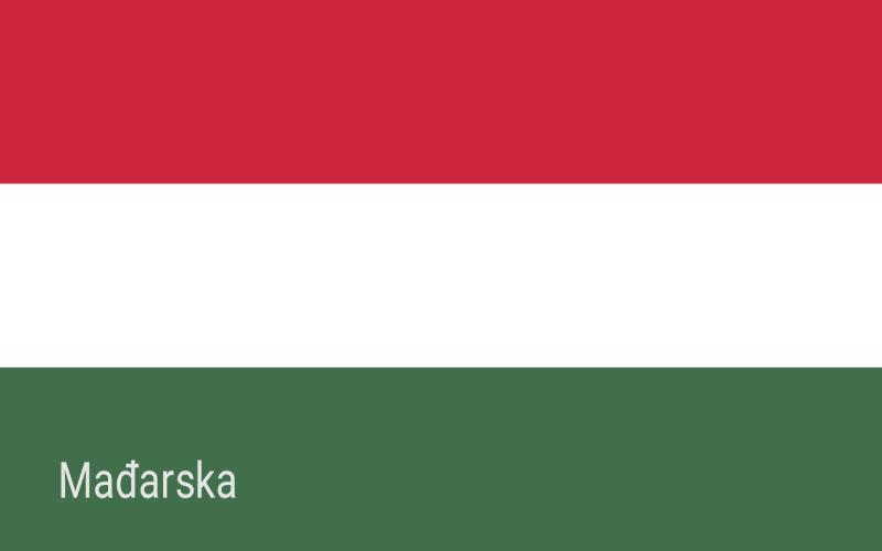 Zastave svijeta - Mađarska