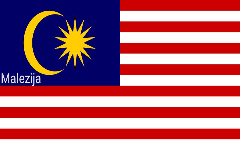 Zastave svijeta - Malezija