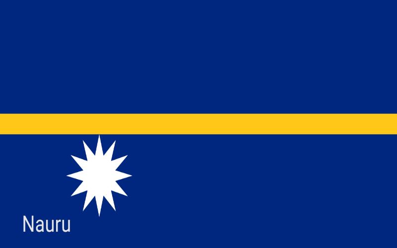 Zastave svijeta - Nauru