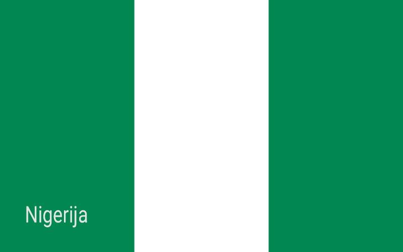 Zastave svijeta - Nigerija
