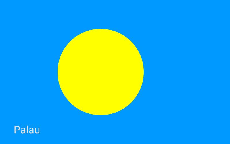 Države u svijetu - Palau
