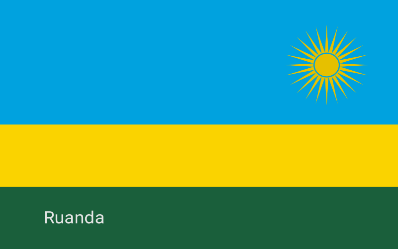 Zastave svijeta - Ruanda