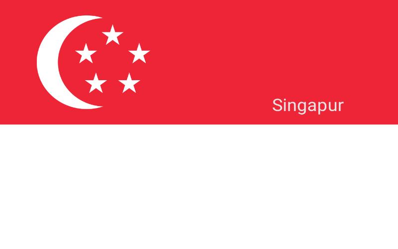Zastave svijeta - Singapur