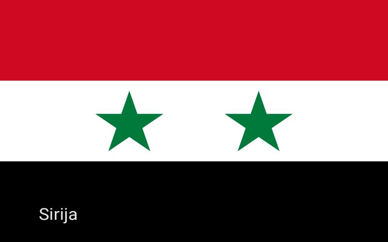 Države u svijetu - Sirija