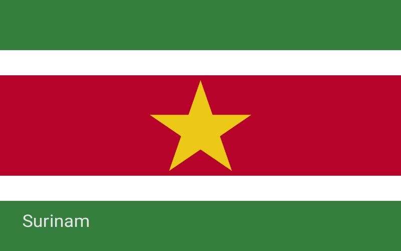 Države u svijetu - Surinam