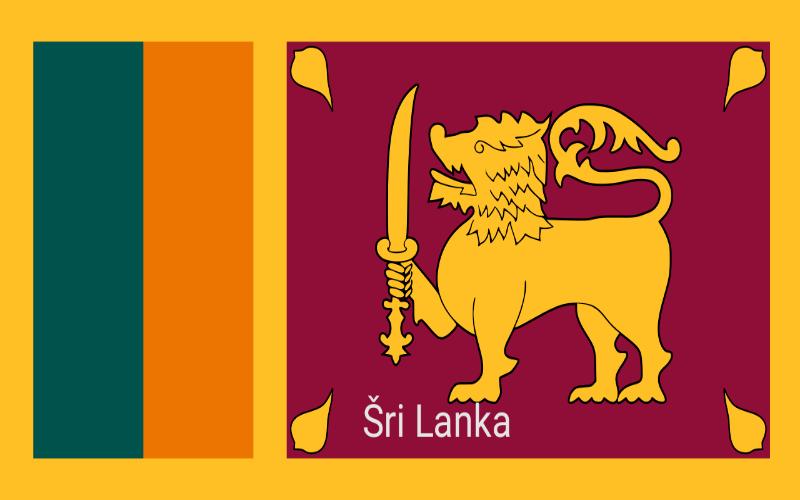 Zastave svijeta - Šri Lanka