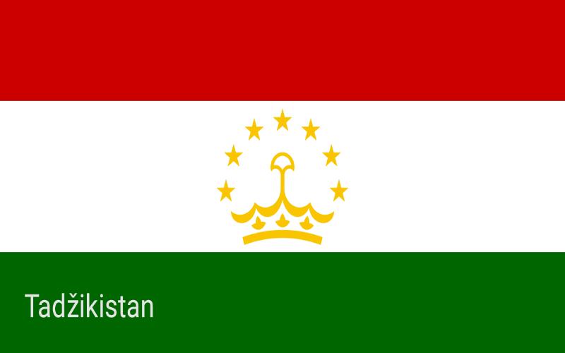 Zastave svijeta - Tadžikistan
