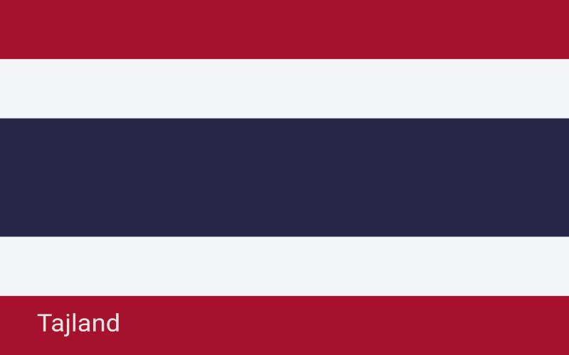 Zastave svijeta - Tajland