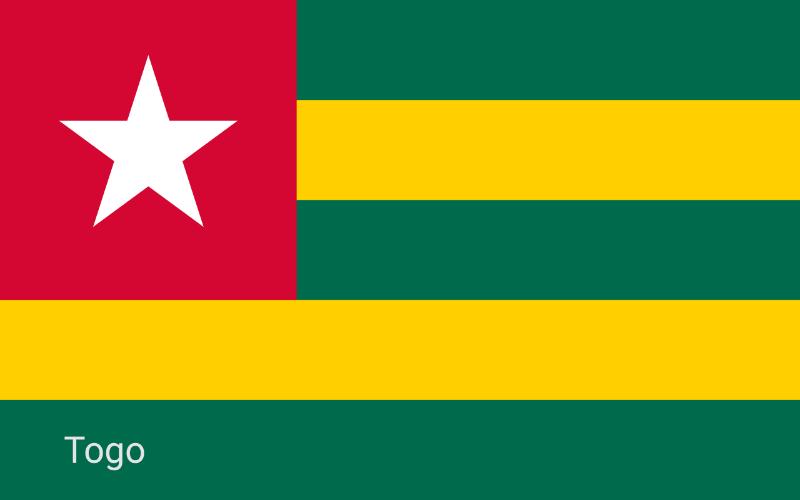 Zastave svijeta - Togo