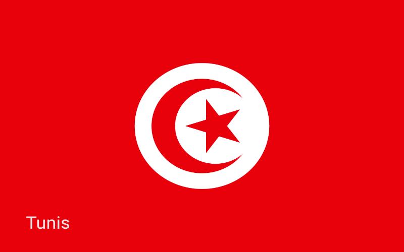Države u svijetu - Tunis