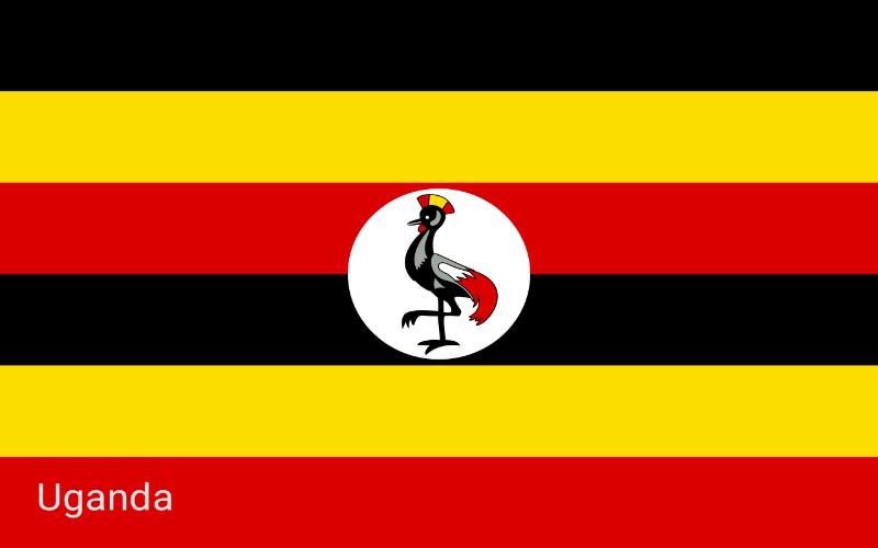 Zastave svijeta - Uganda