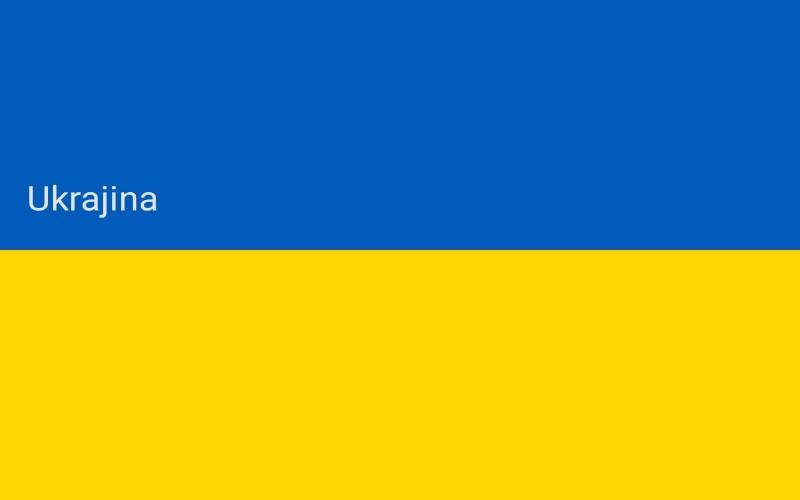 Zastave svijeta - Ukrajina