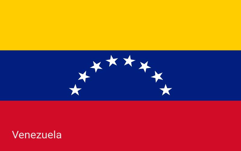 Zastave svijeta - Venezuela
