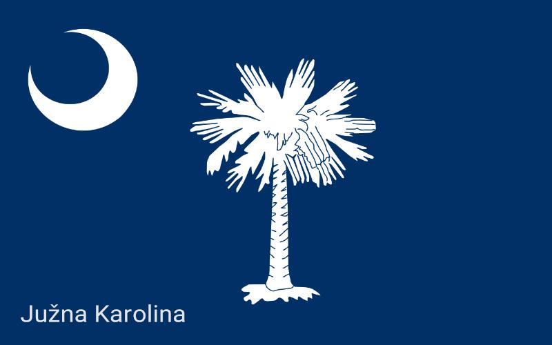 Sjedinjene Američke Države - Južna Karolina