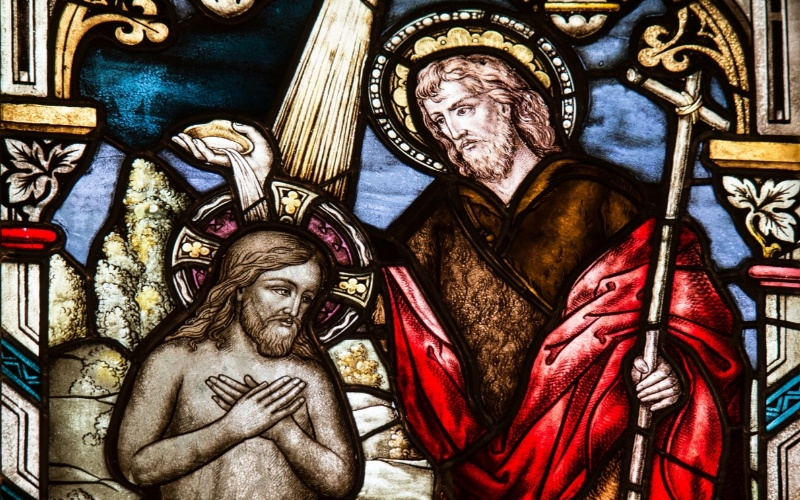 Isus Krist i krštenje