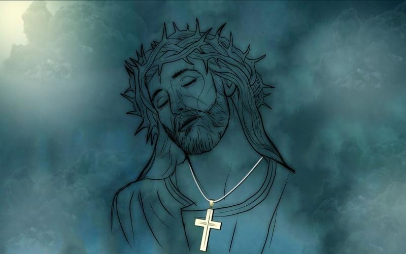 Isus Krist sa krunom