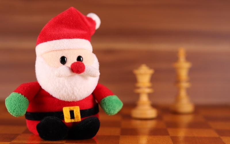 chess board setup