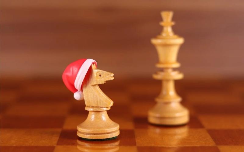 A knight chess