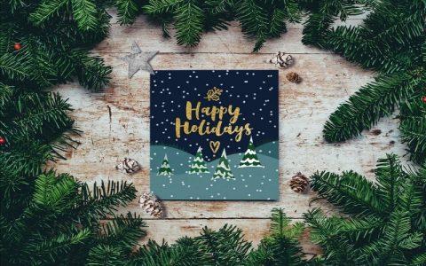 Božićne čestitke i novogodišnje čestitke za obitelj i druge