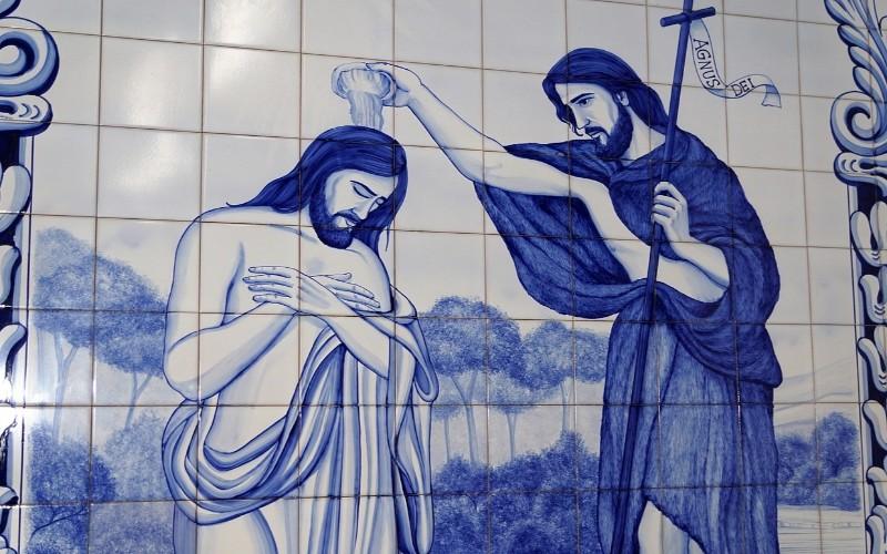 Isus i krštenje