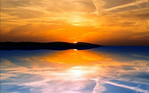 Zalazak sunca koji opušta i podiže raspoloženje