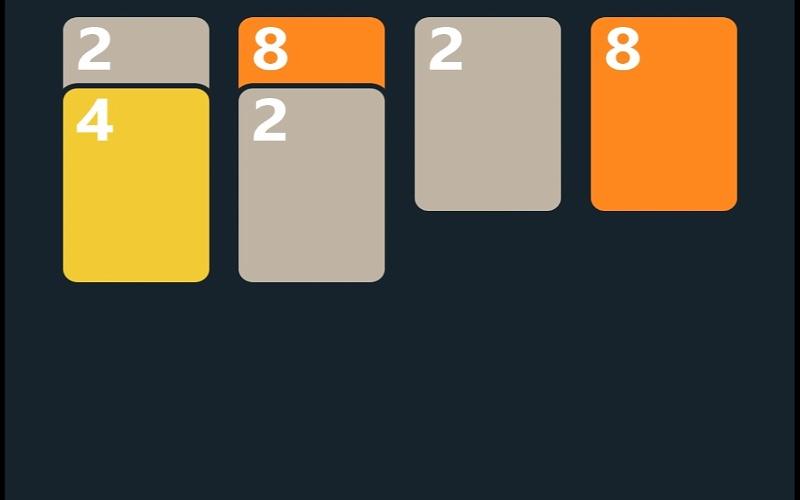 Solitaire Twenty 48 kartaška igra za sigurnu zabavu