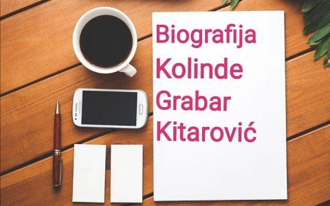 Biografija Kolinde Grabar Kitarović - Biografije poznatih