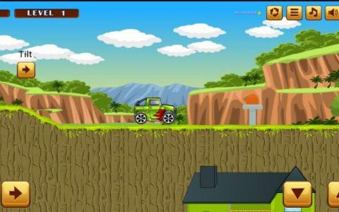 Jeep ride - Najbolje zabavne igre na netu