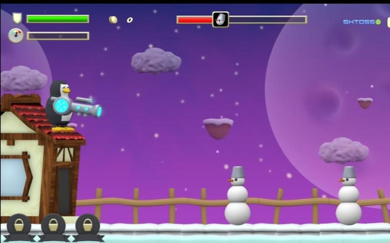 Combat Penguin - Samo najbolje zabavne igre za vas