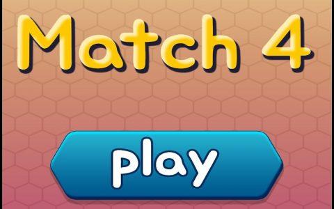 Match 4 - Najbolje zabavne puzzle igre na netu