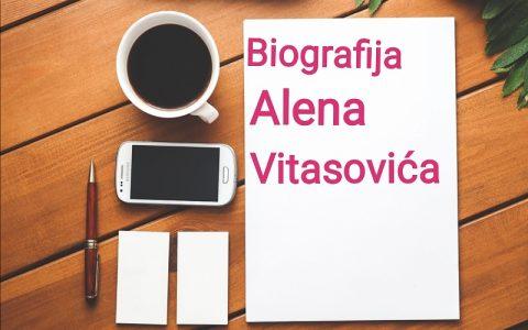 Biografija Alena Vitasovića - Biografije poznatih