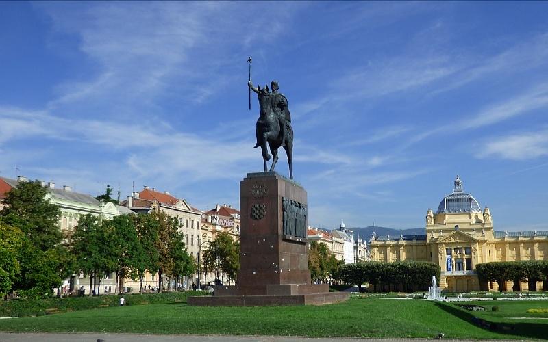 Ljepote Zagreba - Kralj Tomislav