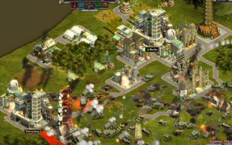 Najbolje strateške igre za PC: Rise Of Nations