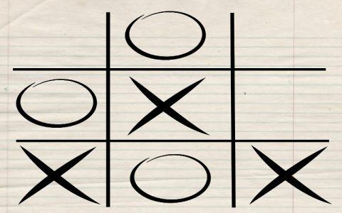 Najbolje klasične igre - križić-kružić (tic-tac-toe)